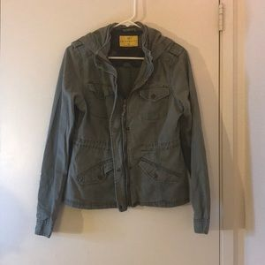 Cute Military-Green Jacket